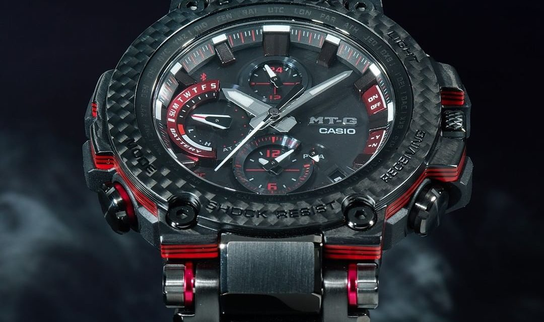 [Live Photos] G-Shock MTG-B1000XBD-1A with Carbon Bezel
