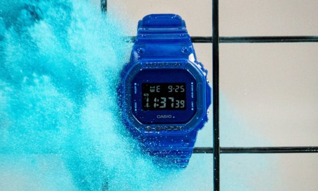 [Live Photos] G-Shock DW-5600SB and fresh colors for Skeleton series