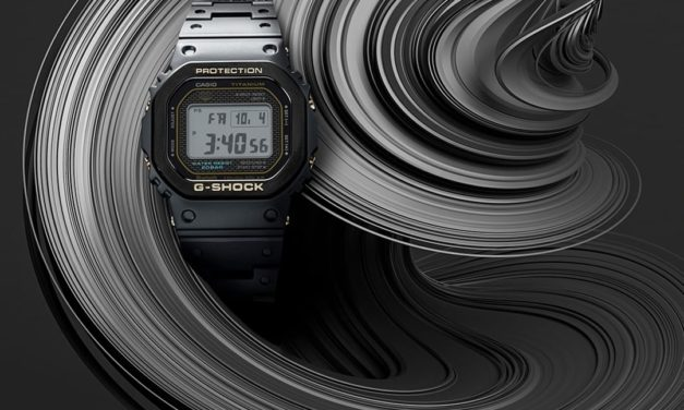 [Live Photos] G-Shock First Full Titanium GMW-B5000TB