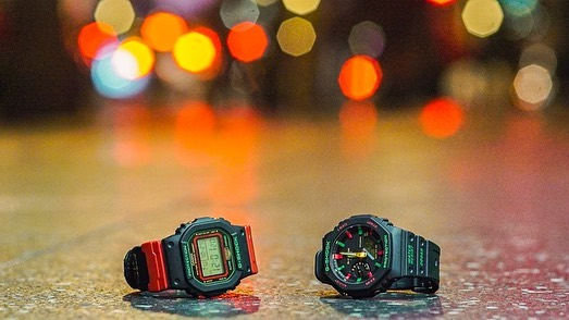 [Live Photos] G-Shock GA-2100TH-1A and G-Movement with Anthony&Talia