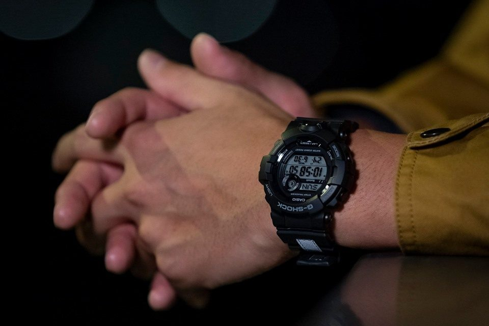 [Live Photos] G-Shock GBD-800LU-1 with Reflective Band