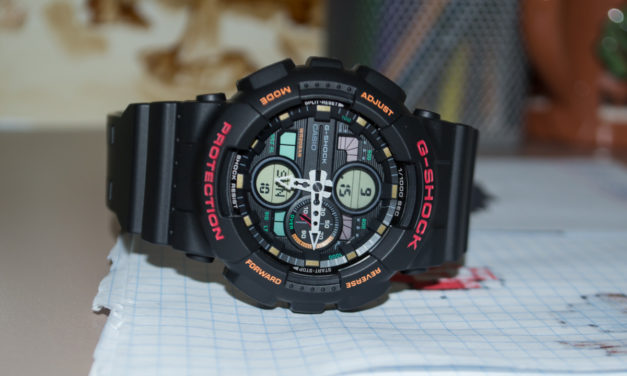[G-Shock Review] GA-140-1A — Fresh Look at Popularity from the Past