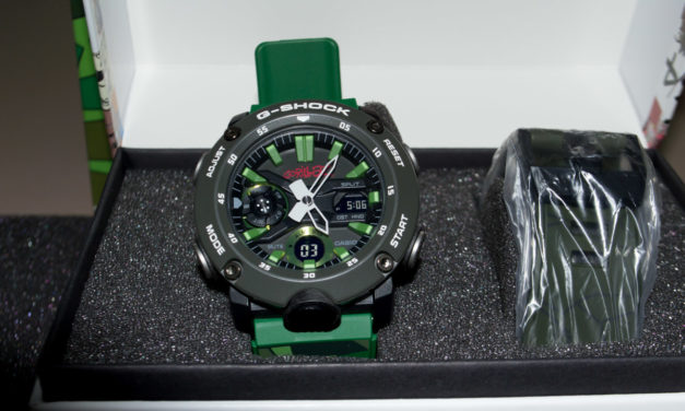 """[G-Shock Review] GA-2000GZ-3 – Two Cool straps and a """"screwdriver"""""""
