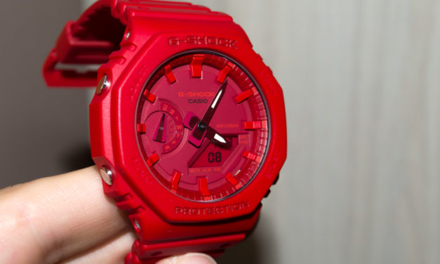[G-Shock Review] GA-2100-4A — the Red World for Creative People