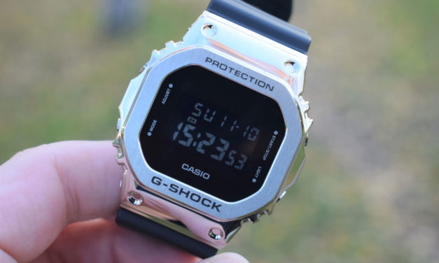 [G-Shock Review] GM-5600-1ER – The Good Old Classic in Metal