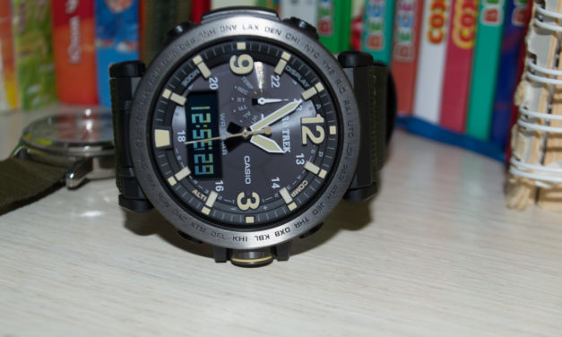 [ProTrek Review] PRG-600YB-3ER with a wider nylon strap