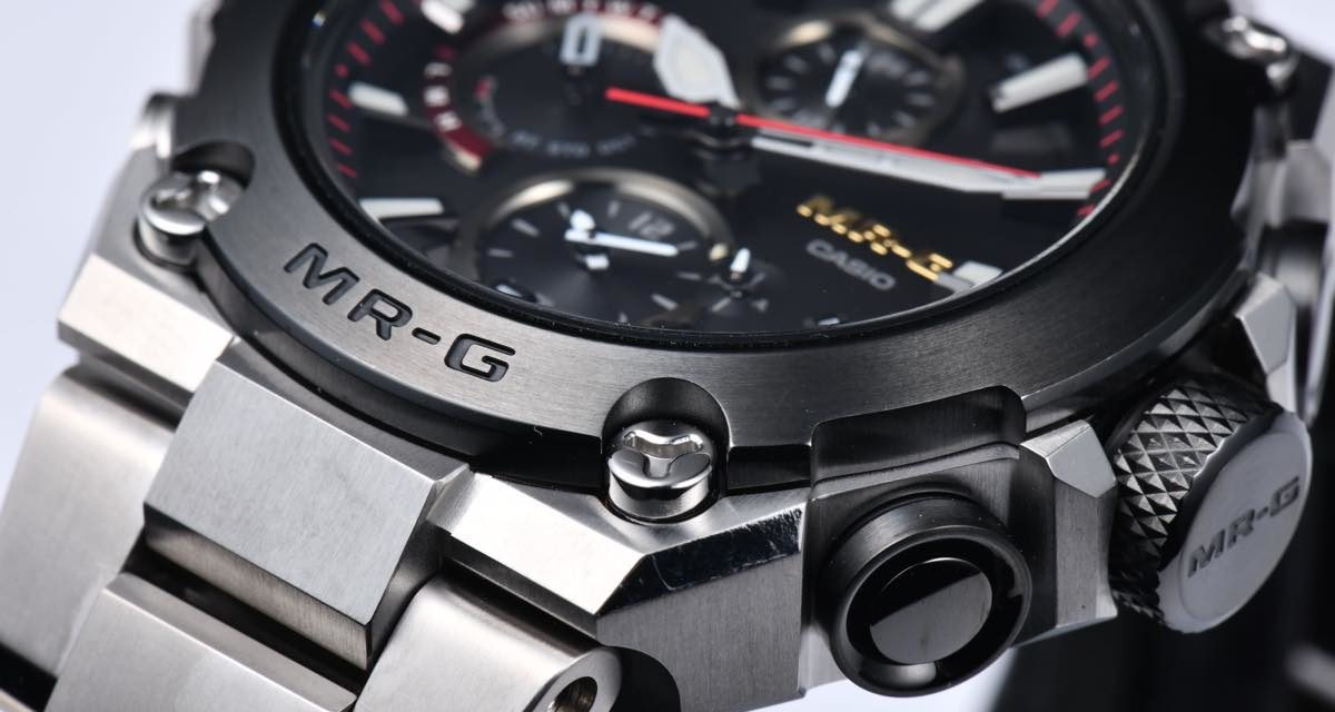 [Live Photos] G-Shock MRG-B1000D-1A — suitable for adults