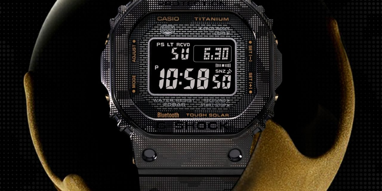[Live Photos] G-Shock GMW-B5000TCM-1 with Camouflage and Titan DLC